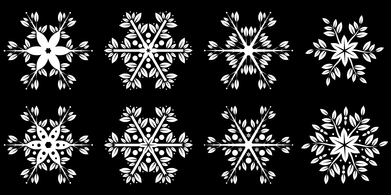 Snowflakes By  Robert  Proksa