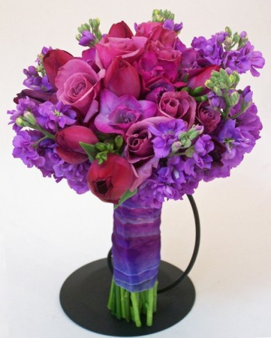 Radiant Orchid Best Color For Your Summer Wedding