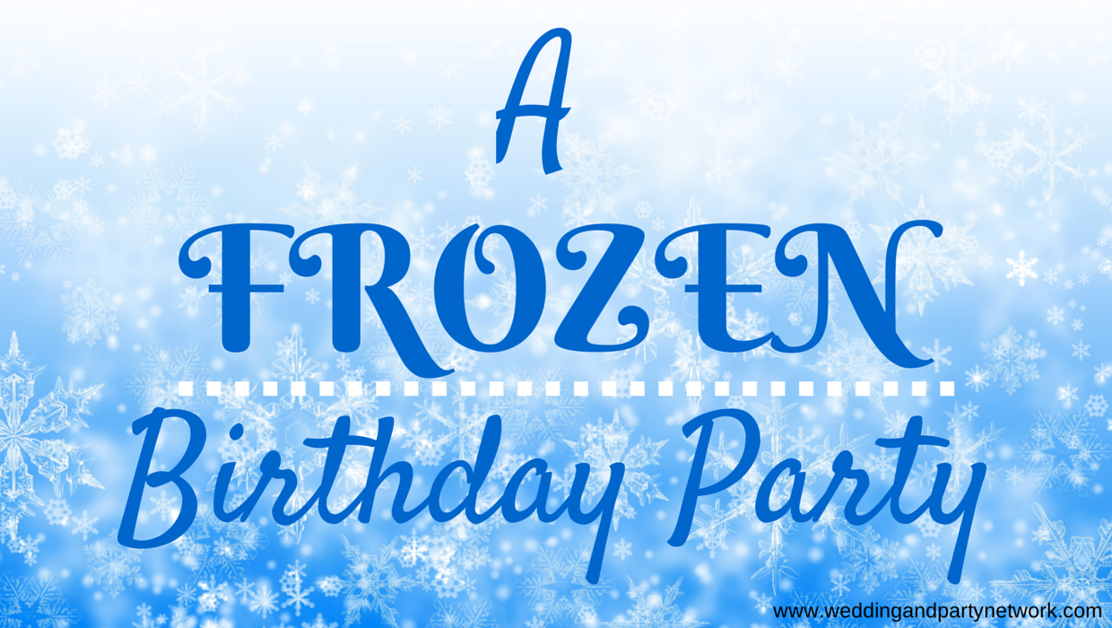 Fine A Frozen Themed Birthday Party Personalised Birthday Cards Paralily Jamesorg