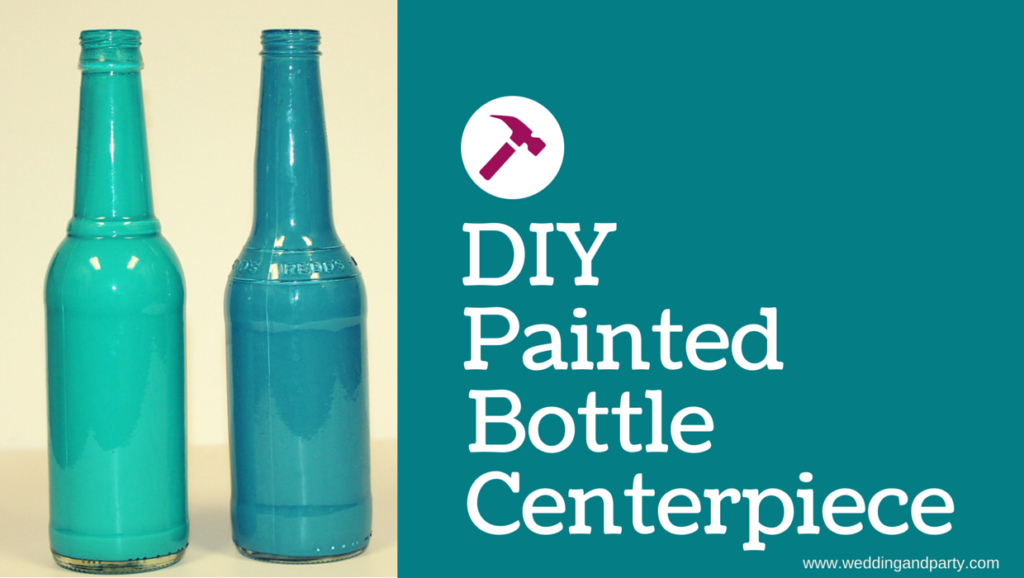 Diy of the month painted bottles for Paint bottles with tips