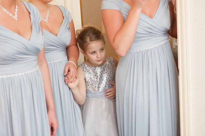 4 flattering bridesmaid dress styles for Cinched waist wedding dress