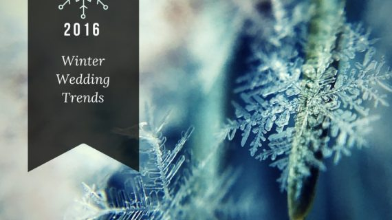 Winter Wedding Trends 2016