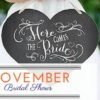 November Bridal Shows