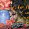 Tips for Planning a Wonderful Thanksgiving Dinner