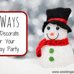 10 Ways to Decorate for Your Holiday Party