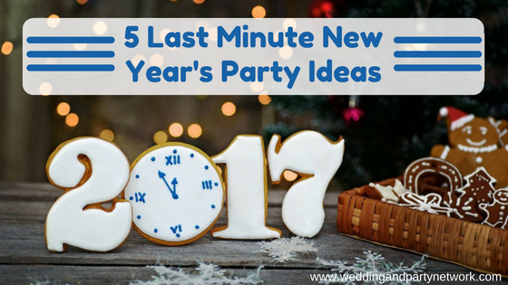 Party ideas tips celebration advisor wedding and for Last minute party ideas