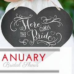 January Bridal Shows