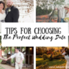 Tips for Choosing Your Perfect Wedding Date