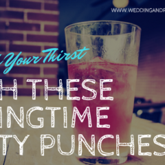Quench Your Thirst with These Springtime Party Punches