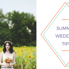 Summer Wedding Tips: How to Beat the Heat