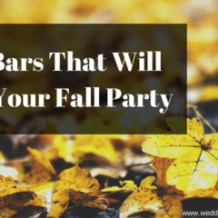 Food Bars That Will Rock Your Fall Party