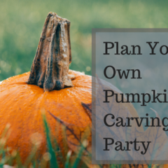 Plan Your Own Pumpkin Carving Party