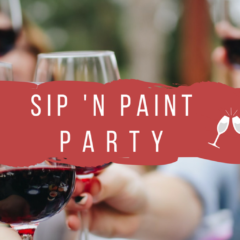 Sip 'n Paint Party