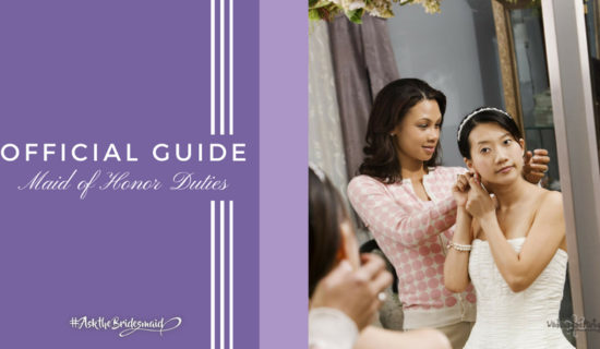 Official Guide: Maid of Honor Duties