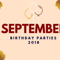 September Birthdays 2018
