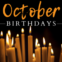 October Birthdays 2018