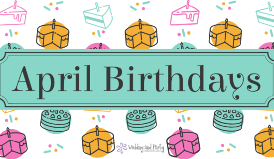 April Birthdays 2019