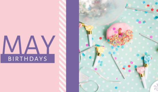 May Birthdays 2019