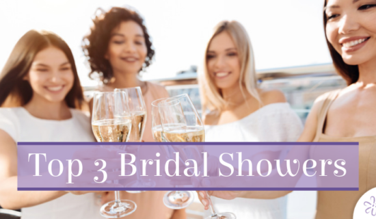 Top 3 Bridal Showers