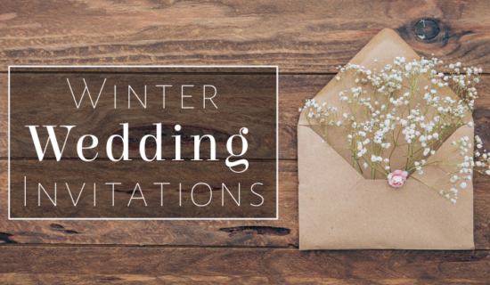 Top 3 Winter Wedding Invitations