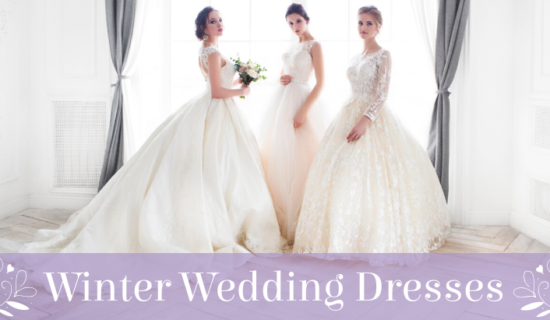 The Perfect Winter Wedding Dresses