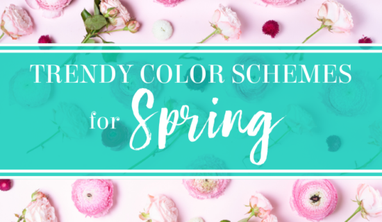 Trendy Color Schemes For Spring