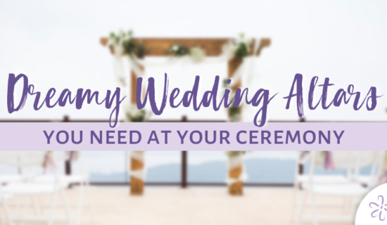 Dreamy Wedding Altars You Need at Your Wedding