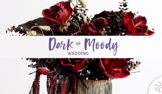 Dark and Moody Wedding Ideas