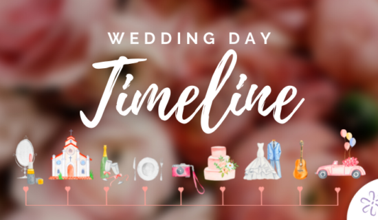 A Template Wedding Day Timeline