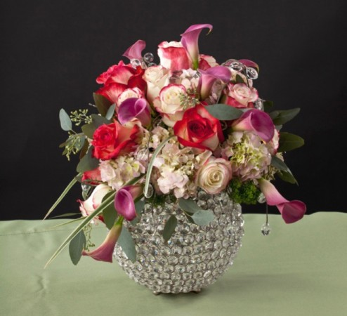Sparkling Bowl Centerpiece