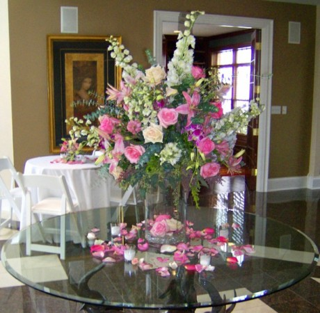 Country Club Affair Centerpiece
