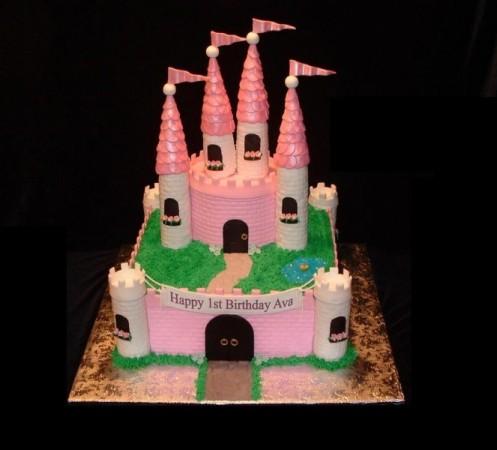 Images Of Castle Birthday Cake : Photo Gallery - Princess Castle Birthday Cake