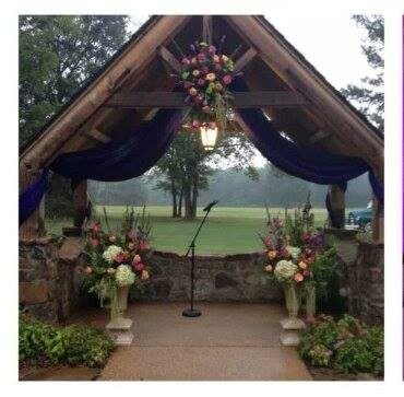 Arbor Florals with Urns