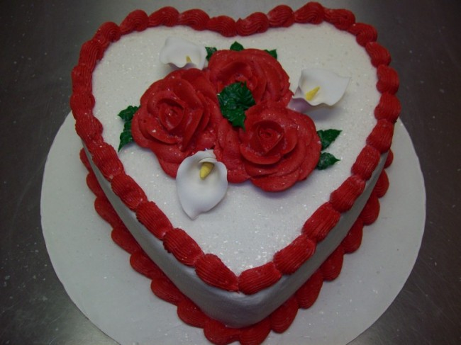 Photo Gallery - Delicious Heart Cake