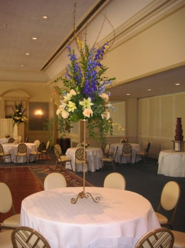 Tall Floral Centerpieces Share Regardless of the type of reception