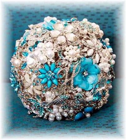 Beautiful Brooch Bouquet