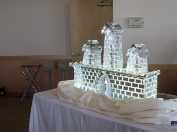 Castle Ice Sculpture