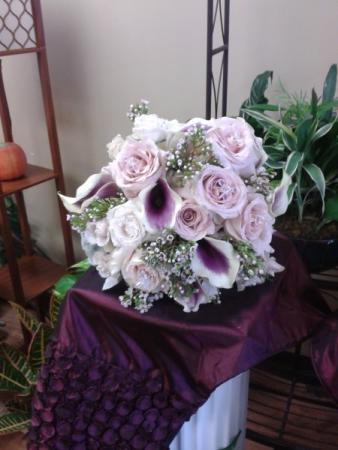 Light Purple Wedding Bouquet