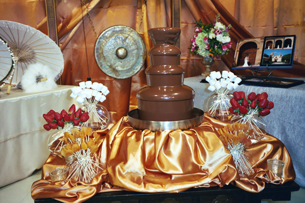 Amazing Chocolate Fountain
