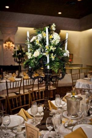 Candle Reception Centerpiece