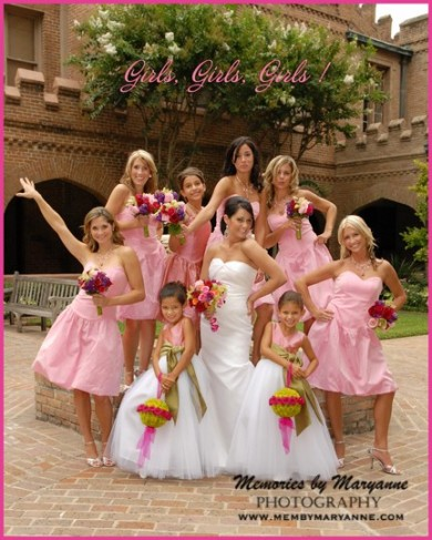 Bridesmaid Dress on Photo Gallery   Pink Bridesmaids Dresses