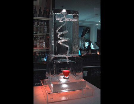 Luge from Ice Bar