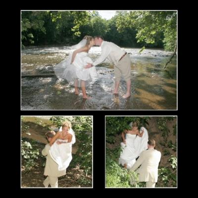 [Natural Beauty Wedding Collage]
