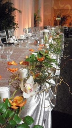 Head Table Reception Flowers personal