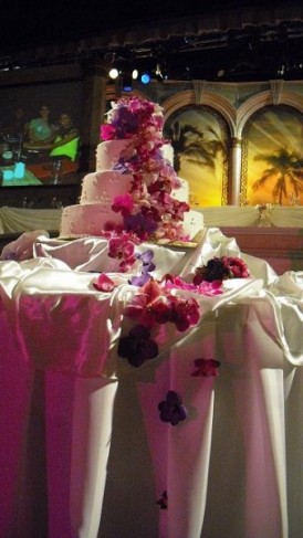 Orchid Waterfall Cake Flowers personal