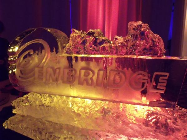 Enbridge Ice Sculpture