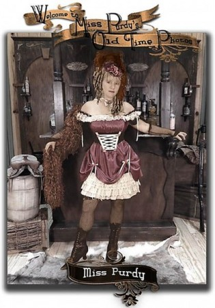 Miss Purdy - Owner/Operator of Miss Purdy's Old Time Photos & Western Prop Rental