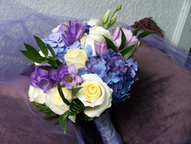 Summer Wedding Bouquets Pictures: Gallery for gt purple summer ...