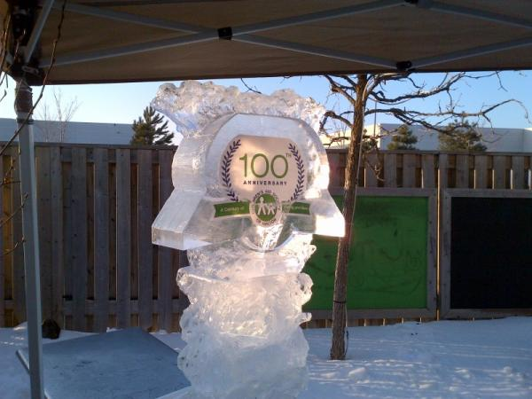 Anniversary Ice Sculpture