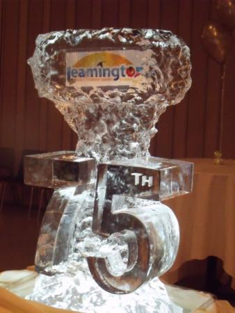Ice Centerpiece with Logo